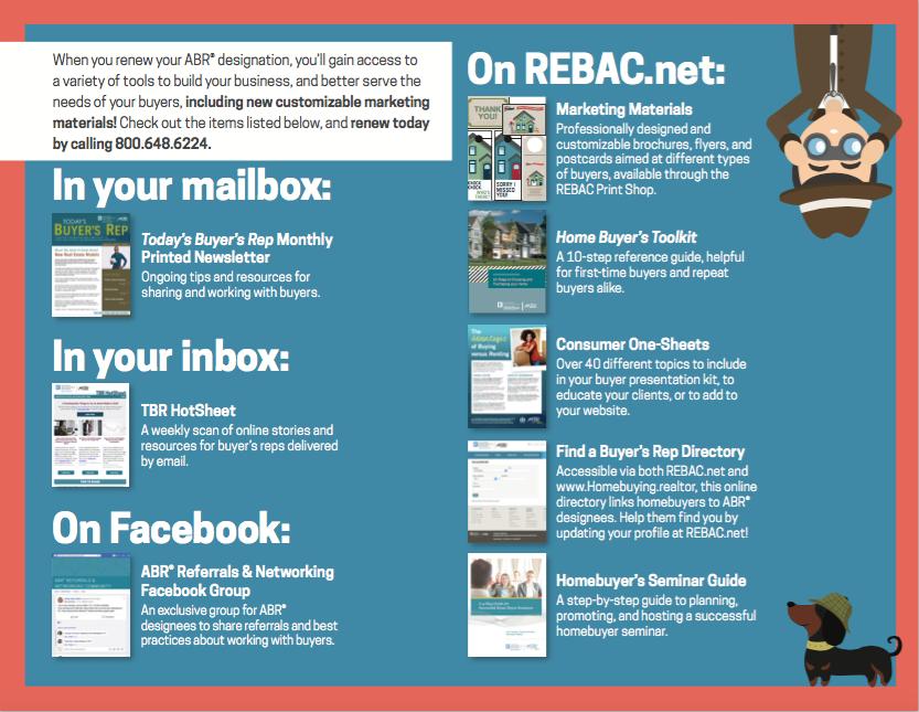 ABR® Benefits Mailer | Hilary Conlisk | Graphic Design